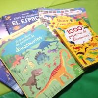 libros de PEGATINAS originales (DINOSAURIOS)