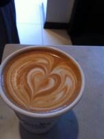 Stumptown latte.