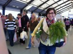 A trip to the farmer's market with Anna