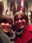 Heidi and me at PU Chapel