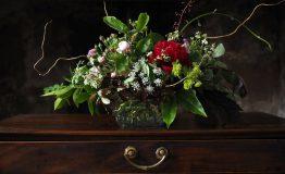 Wild and wonderful garden arrangement
