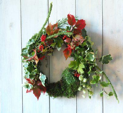 Mossy Christmas Wreath
