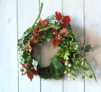 Mossy Christmas Wreath