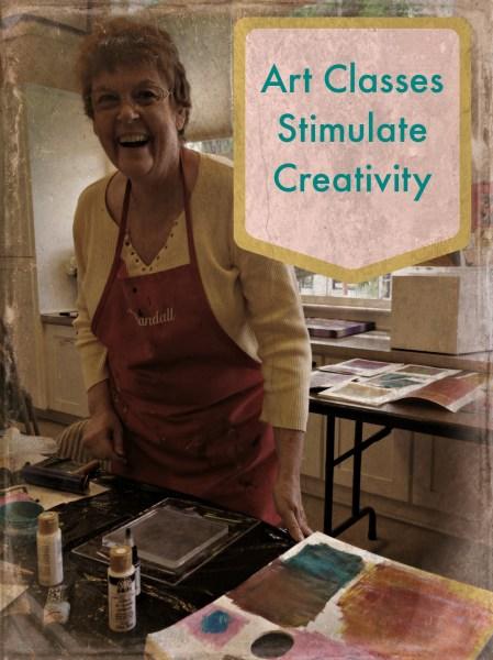 art classes stimulate creativity
