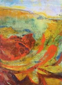 Abstract Hillside RuthArmitage