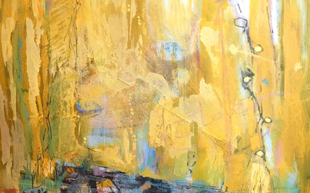 Golden Shore – New Abstracted Landscape