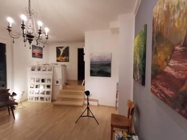 Ausstellung eigener Arbeiten