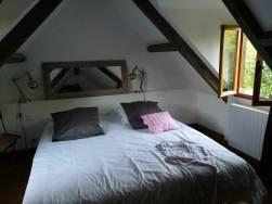 Schlafzimmer zur Gartenseite