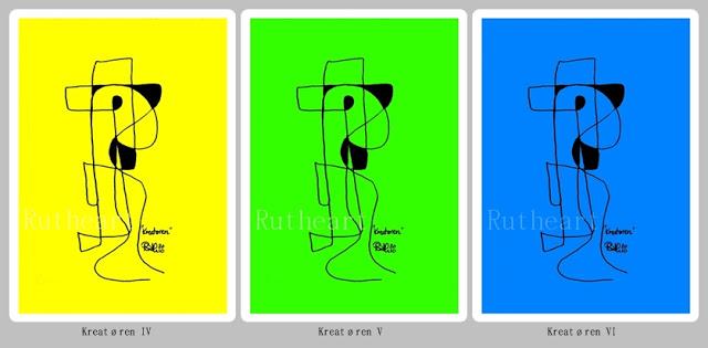 Kreatøren (the creative) IV, V and VI