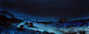 Heimfjæra – Acrylic Painting by R.T.Brokstad