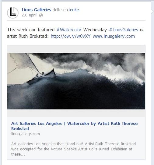 Featured WatercolorArtist LinusGallery - Linus