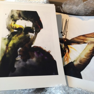 Mindscape 6 and 7 - Watercolour DGA - www.rutheart.com