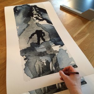 💌Subscribers only: To the Top-Techniques > Giclée Prints, Styles > Landscapes, Size > Large (>50 cm, eg. A2)-Rutheart