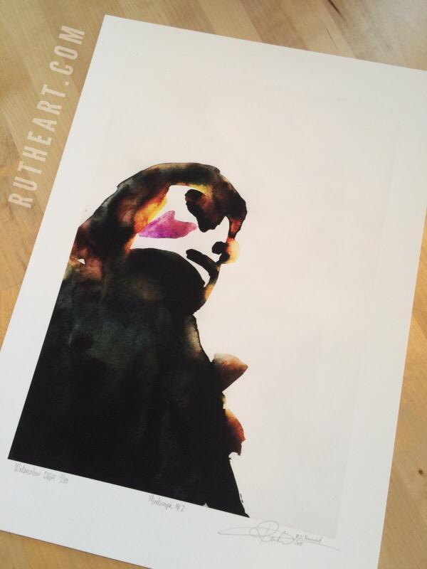 Mindscape #2-Techniques > Digital Graphic Artwork, Size > Medium (21-50 cm, eg. A4 and A3), Styles > Mindscapes-Rutheart