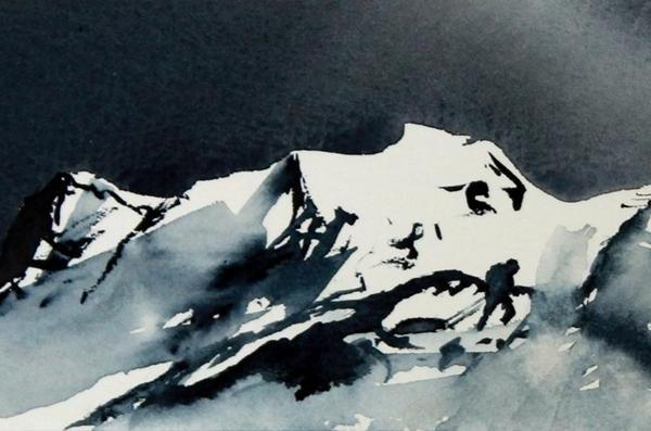Room for Time - Watercolour - RT Brokstad