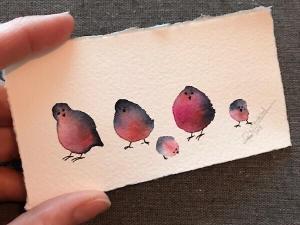 Birds IV (Auction)-Rutheart