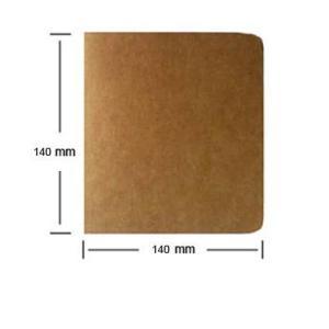Paper Notebook Blanke Sider-Rutheart