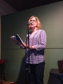 "Sara Graefe read from her shining, intelligent story, ""Variety Pack"""