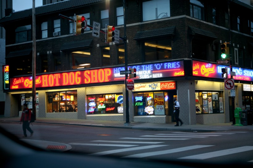 Essie's Original Hot Dog Shop in Oakland at the University of Pittsburgh