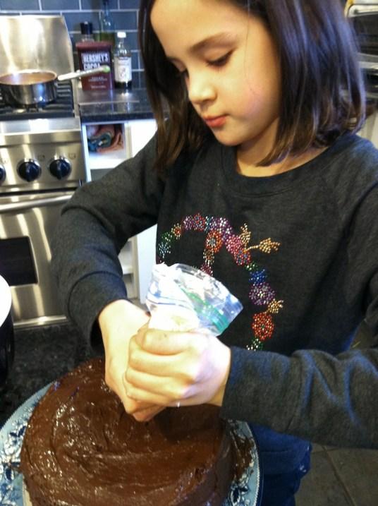 anna makes a cake