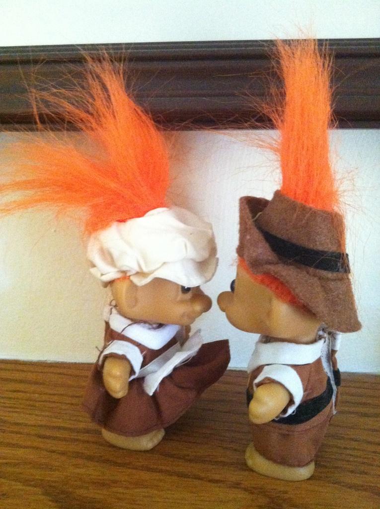 Pilgrim Trolls facing