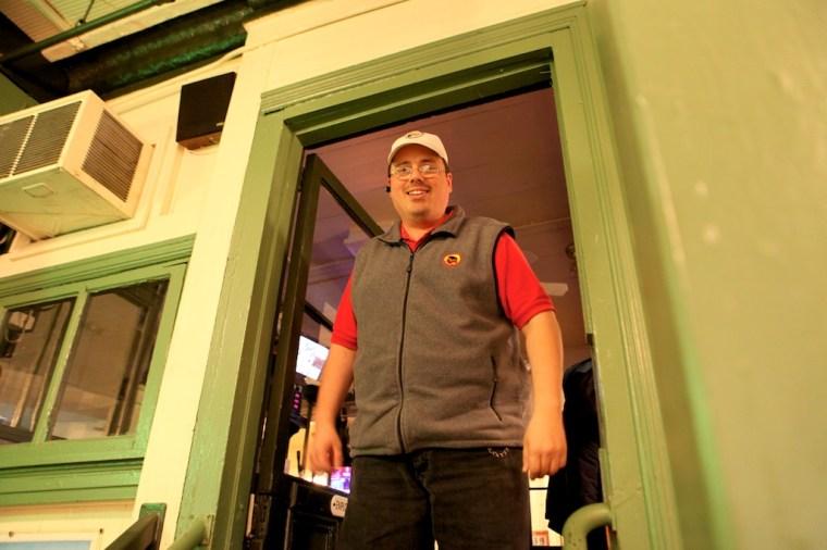 Chuck Wise in door 003