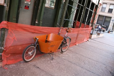 Downtown Delivery Bike