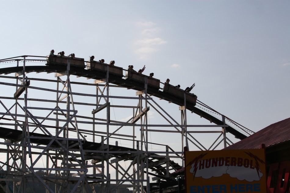 Roller Coaster at Kennywood