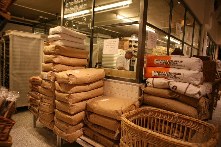 Eataly Bread making