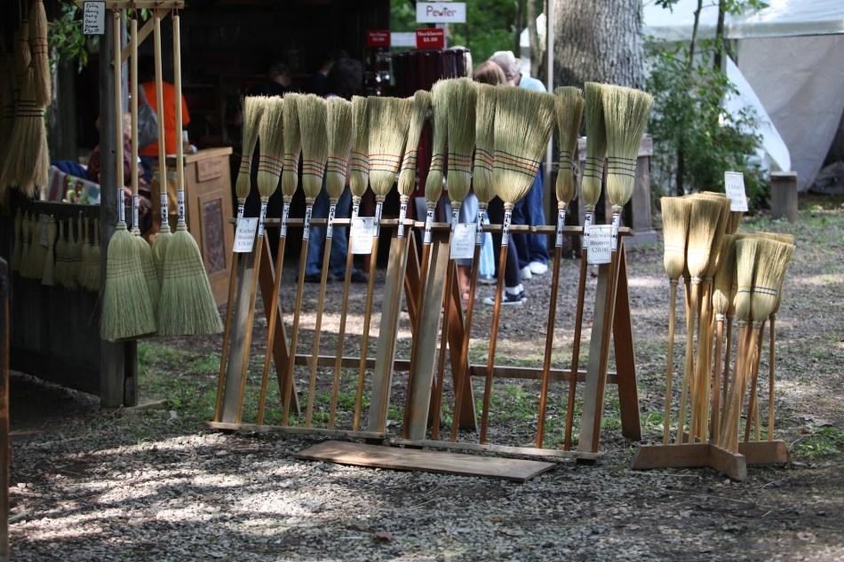 Bob Haffly Broom maker
