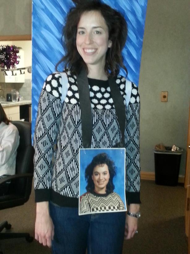 Laura as a senior photo
