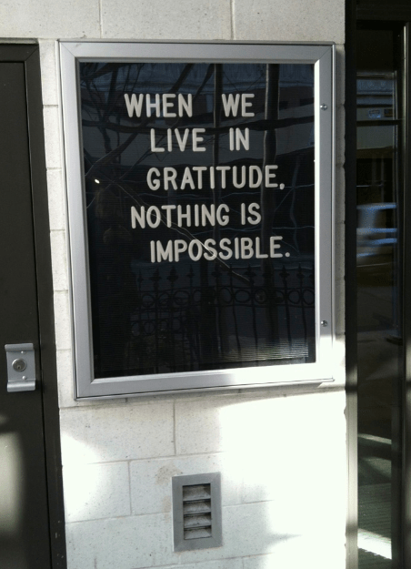 Sign in New York City