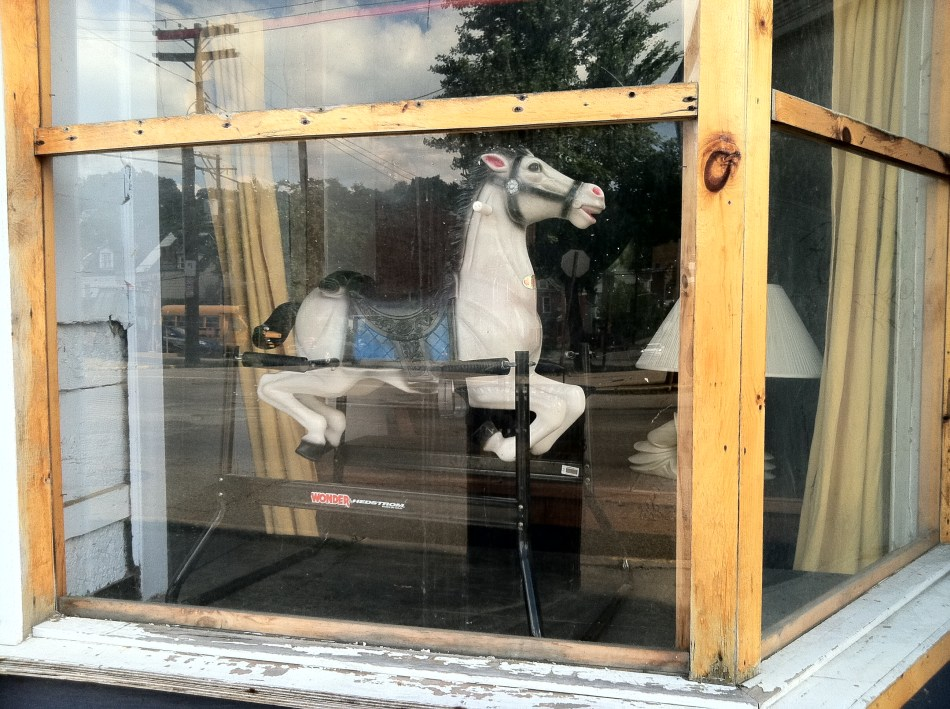 Rocking Horse Window