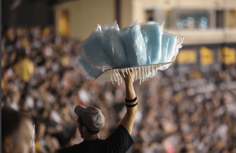Cotton Candy Man