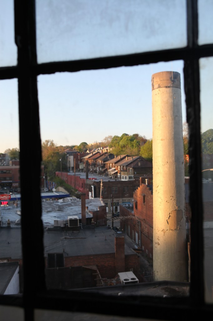 smokestack window