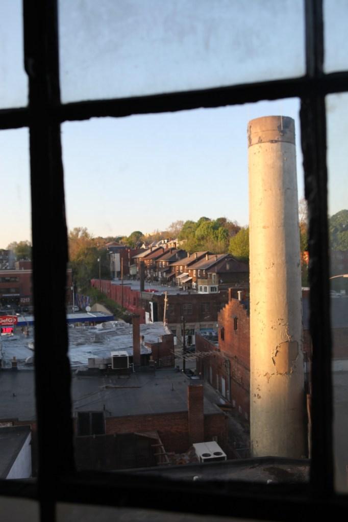 smokestack window