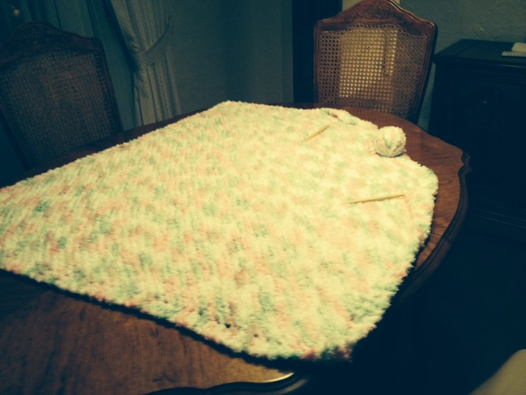 Knitted Toddler Blanket