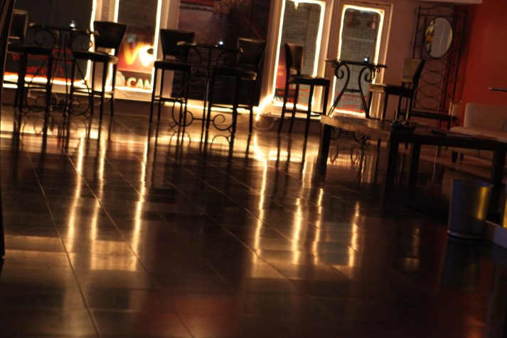 La Cucina Flegrea floor