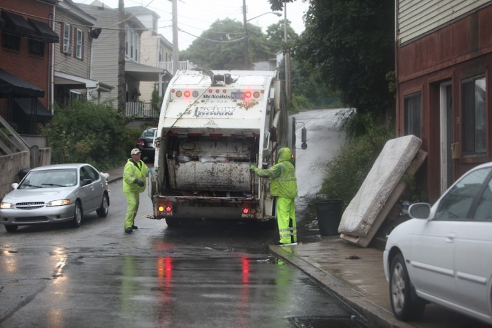 Garbage Men on Josephine St