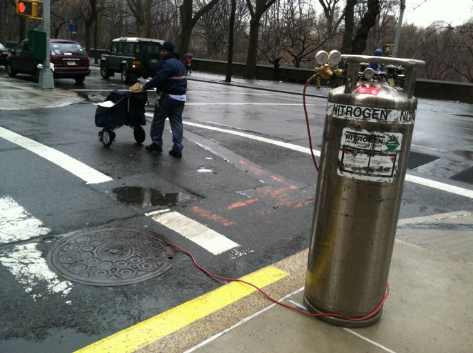 Nitrogen going where? NYC