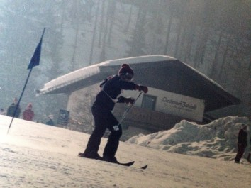 Skiiing in Austria