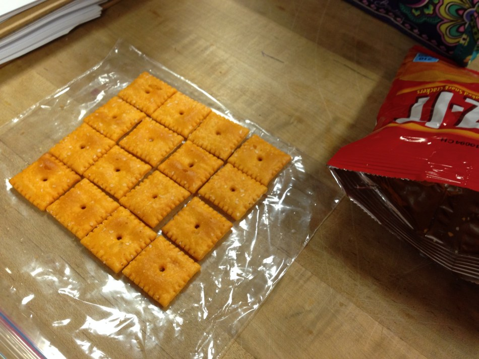 Miss E's Cheezits