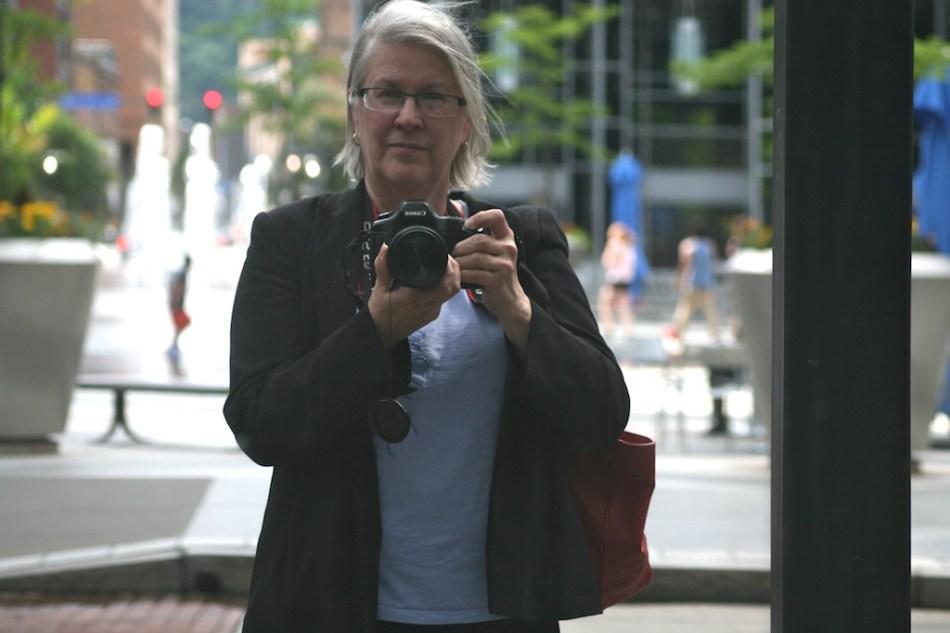 Self Portrait at PPG PLace