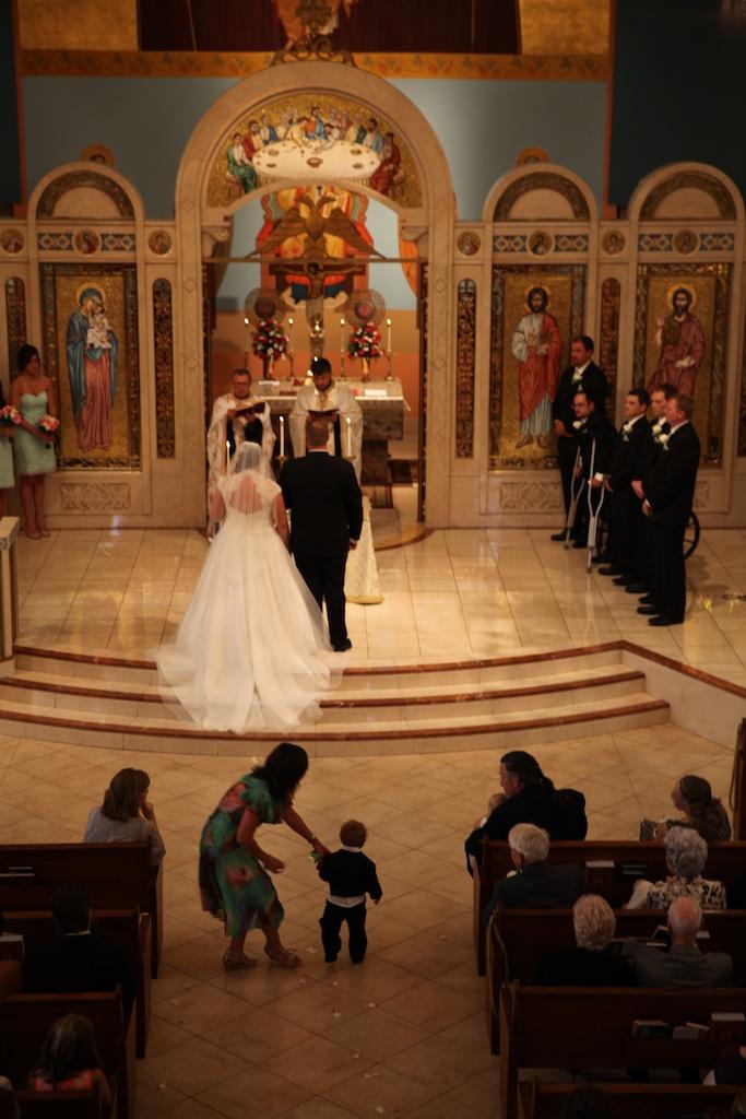 Eugenia and John ceremony