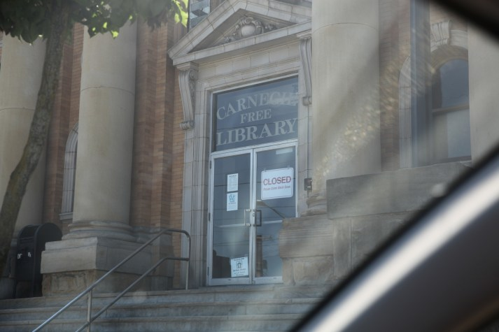 Library closed on Friday