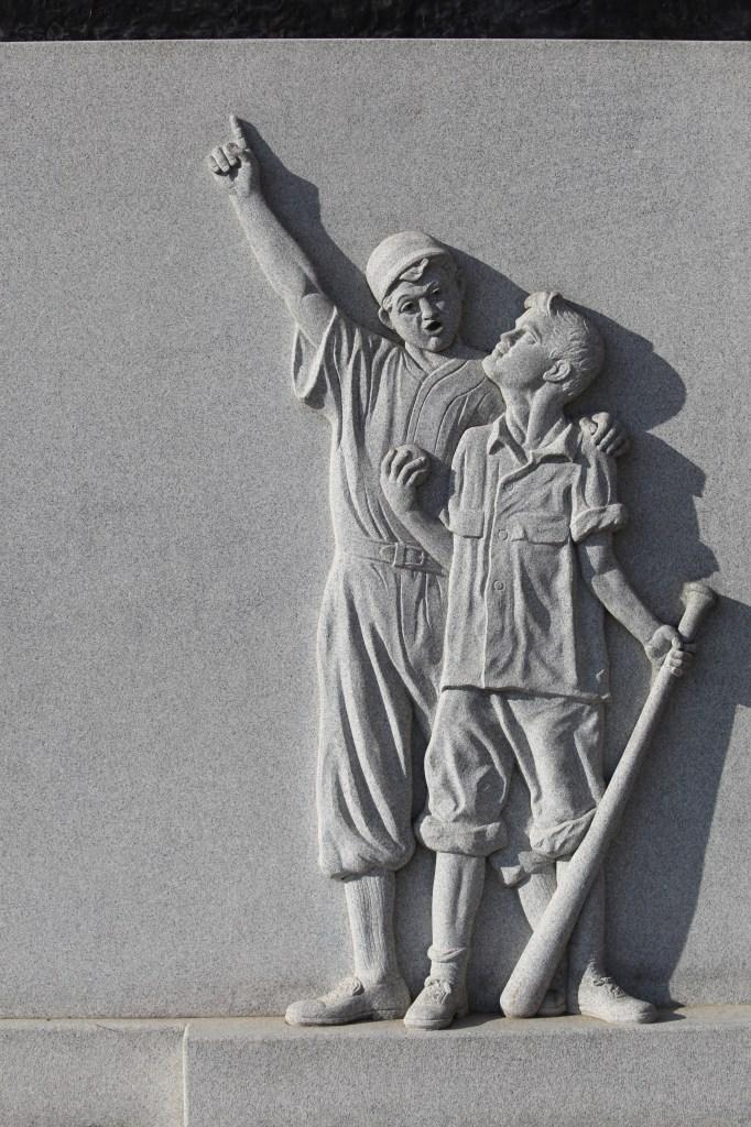 Honus Wagner Statue