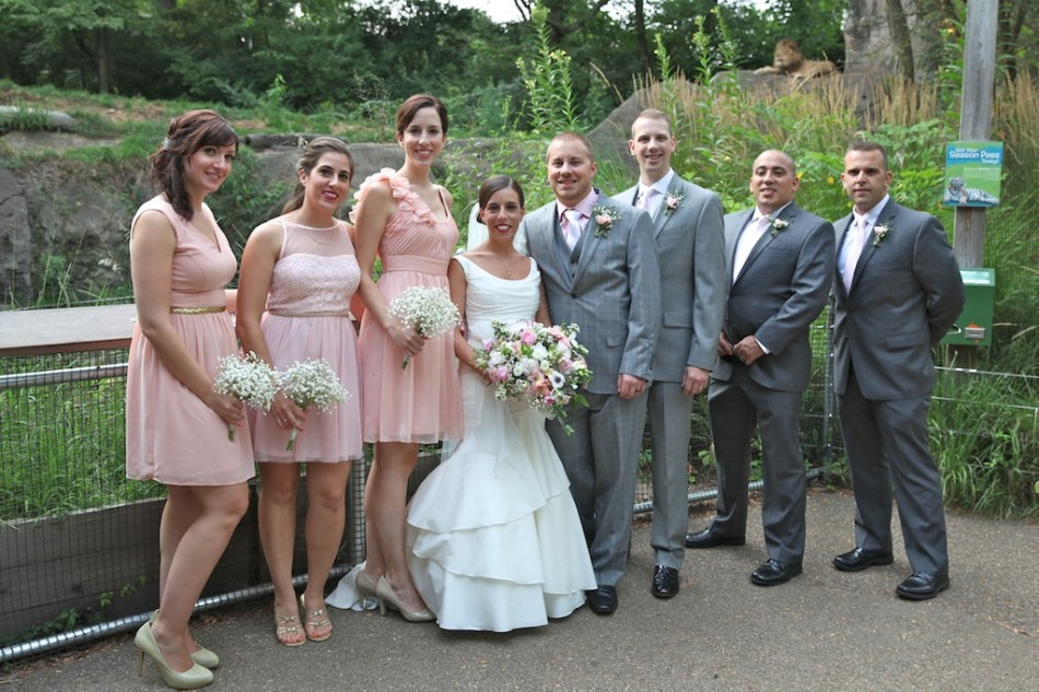 Bridal Party with Lion 2