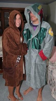 Chewbacca and Boba Fett