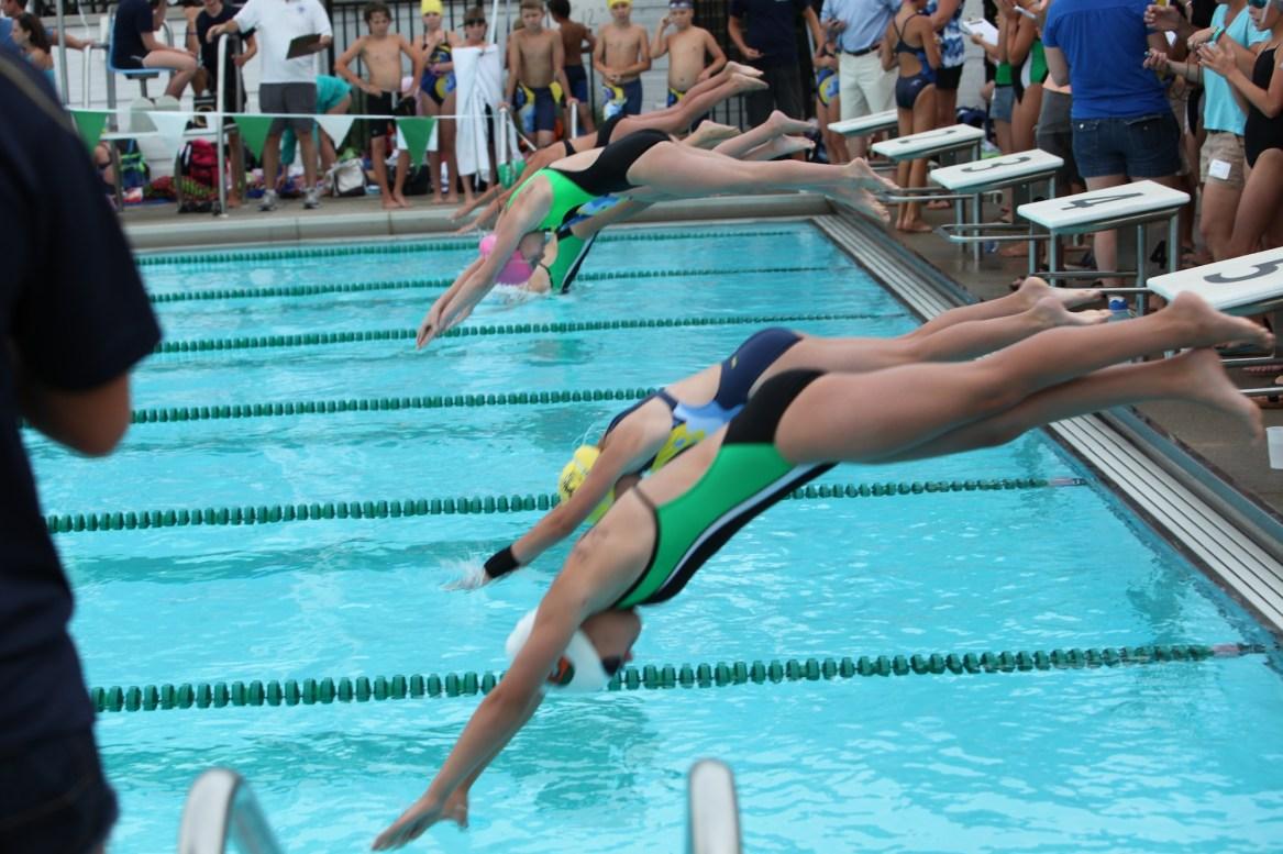 descent swimming