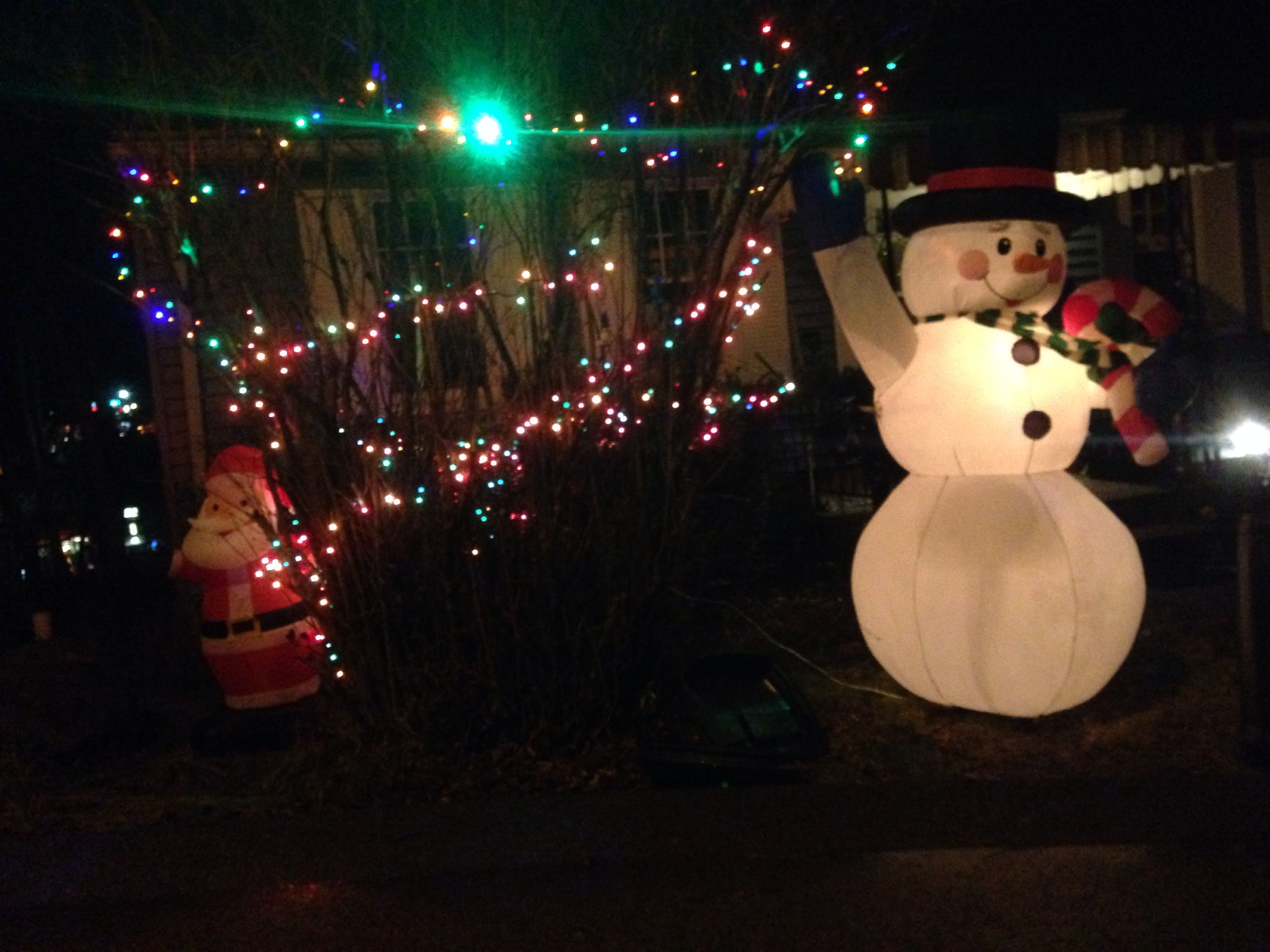 Outdoor Inflatable Yard Decor or Illuminated Plastic Blow
